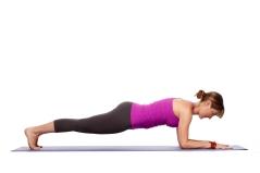 Forearm/Dolphin Plank - Makara Adho Mukha Svanasana