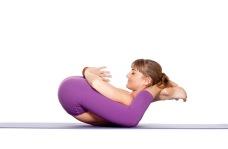 Yoginidrasana - Sleeping Yogi Pose