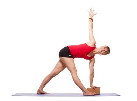 Parivritta Utthita Trikonasana - Revolved Triangle Pose