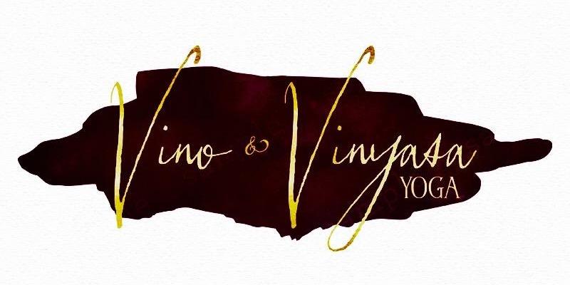 Vino & Vinyasa logo